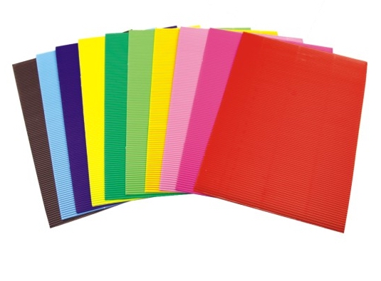 Glossy Corrugated Paper