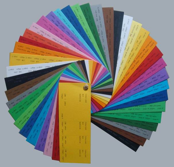 Color Pulp Paper Colors