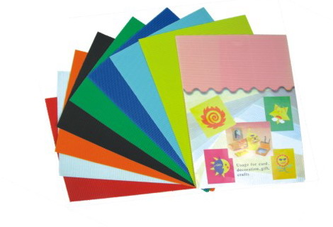 normal color corrugated paper