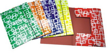CHECKER DESIGN PAPER FILE FOLDER